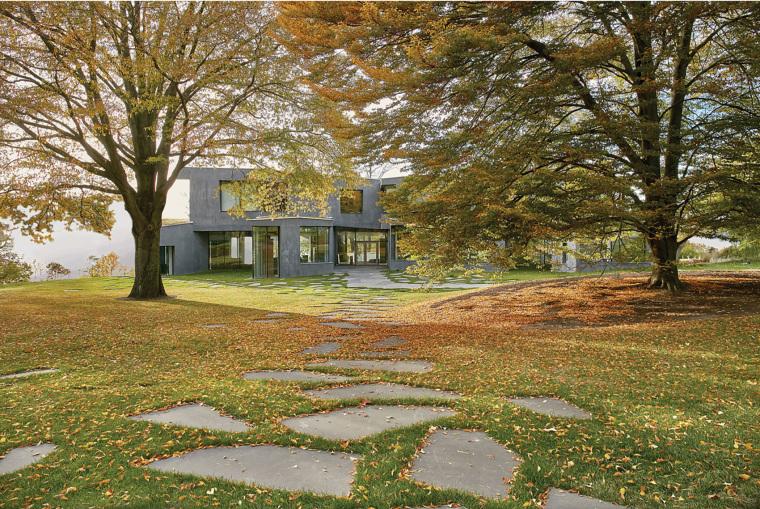 美国抽象形态的住宅景观-1