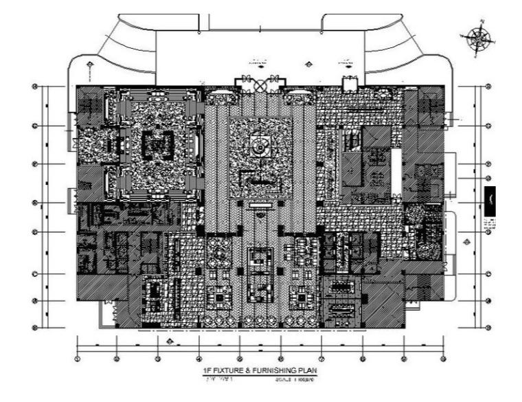 [盘锦]超完整知名高档酒店设计施工图(含效果图)