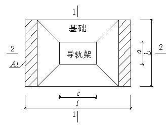 施工电梯基础施工方案(高层住宅)