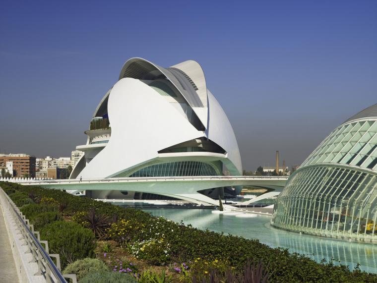西班牙含苞绽放的瓦伦西亚歌剧院-2