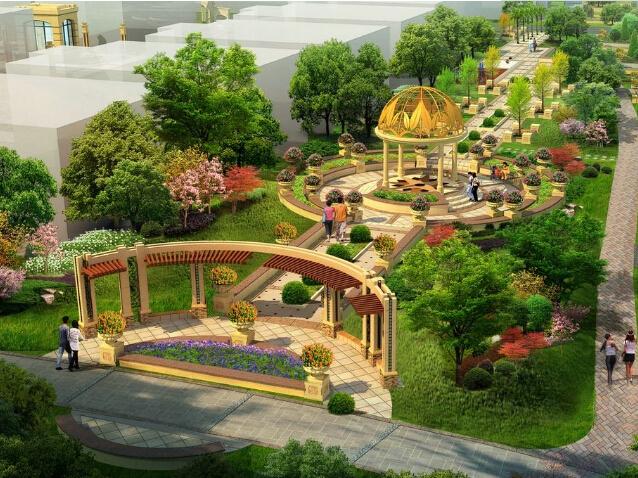 知名地产景观设计标准(图文并茂)