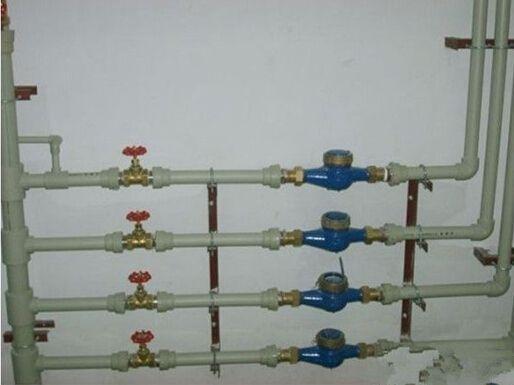 给排水规范学习之室内给水管道安装