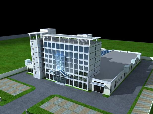 办公商业楼项目绿色安全样板工地验收汇报(附图丰富)