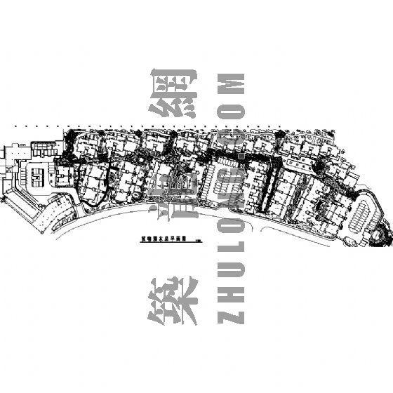 园林景观工程施工图(成都万科城市花园)九