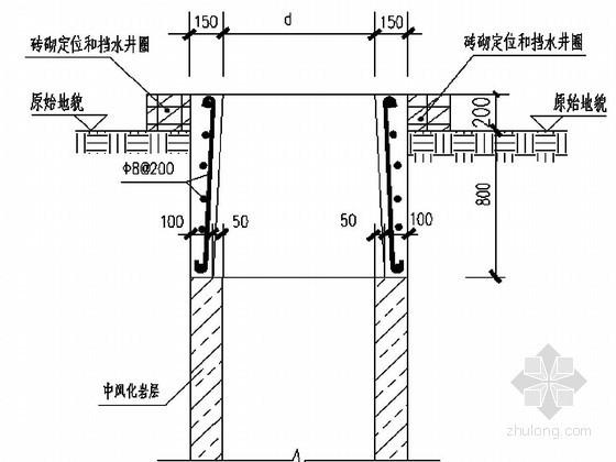 危房改造工程人工挖孔桩基础施工方案(专家评审)
