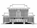 [厦门]某知名大学九层中式风格图书馆建筑方案图