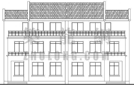 小康农居建筑设计方案3