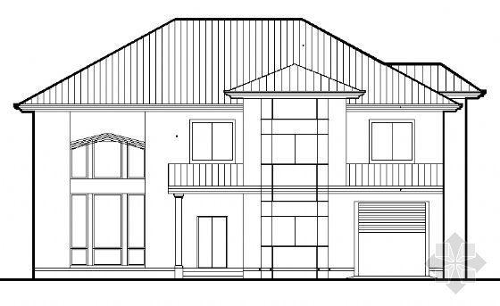 B型别墅设计图纸
