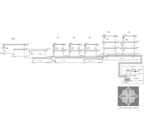 [重庆]某高层商业楼给排水设计施工图纸-建筑给排水图大全手抄报古诗六合无绝对边框图片