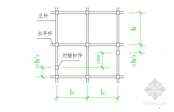 [福建]框架厂房工程高支模专项施工方案