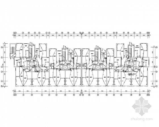 [河北]11层住宅楼电气全套施工图(甲级院设计)
