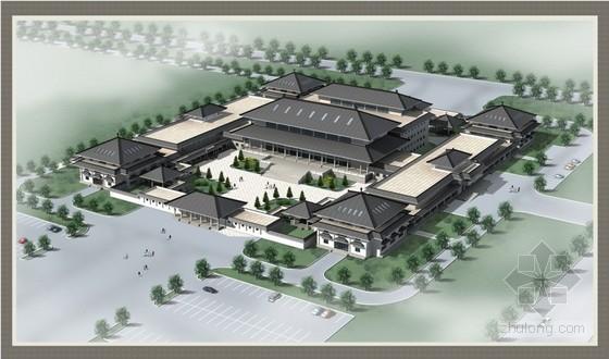 [内蒙]框架结构博物馆混凝土施工方案