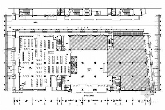 [杭州]市中心核心地带重点惠民工程文化中心装修图(含实景图)