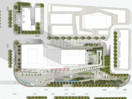 [武汉]融合式多元素分层商业观光空间景观设计方案(知名设计公司)