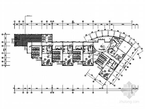 [宁波]花园小区清新现代风格幼儿园CAD装修施工图(含实景图)