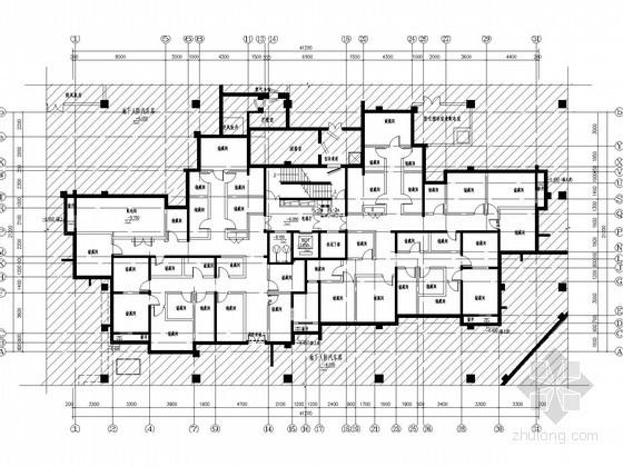 三十二层住宅楼给排水施工图纸(中水系统)