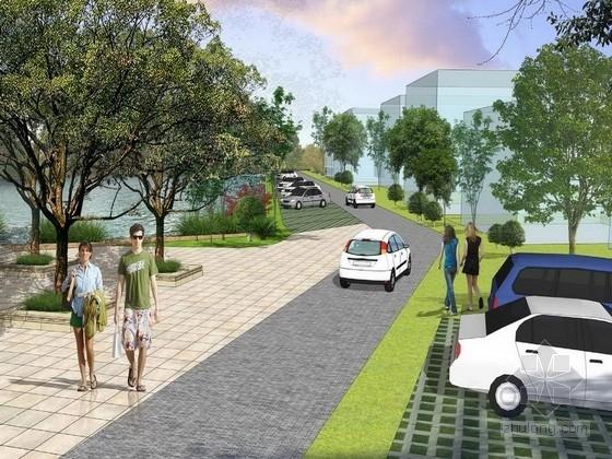 [广东]生态活力标准样板社区景观设计方案