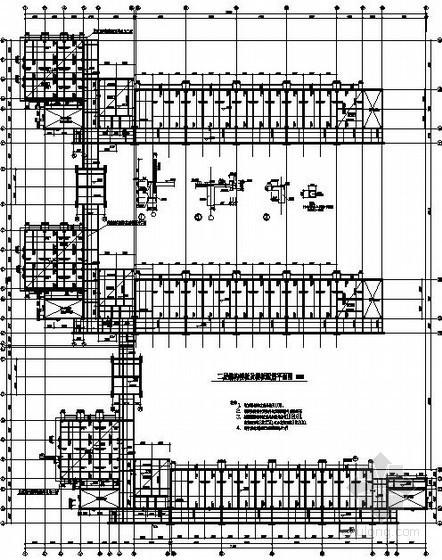 [南昌]框架中学教学楼结构施工图(五层 桩基础)