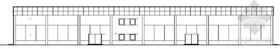某单层汽车展厅建筑方案图