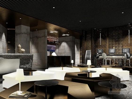 [北京]某特色自助餐厅大悦城店室内设计概念方案