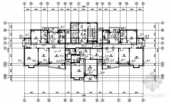 荆州市某小区三栋高层住宅给排水施工图