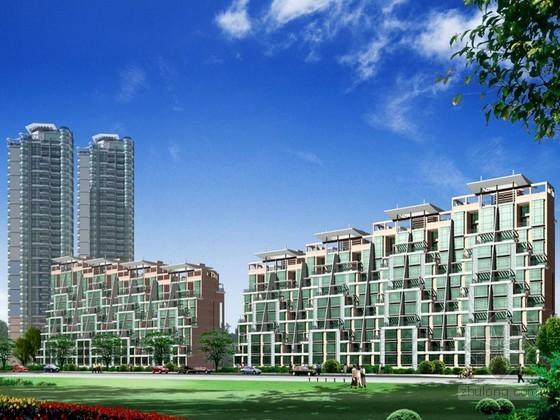[深圳市]某海景花园小区方案设计(含报建和投标)