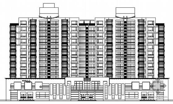 某十一层底商住宅楼建筑施工图