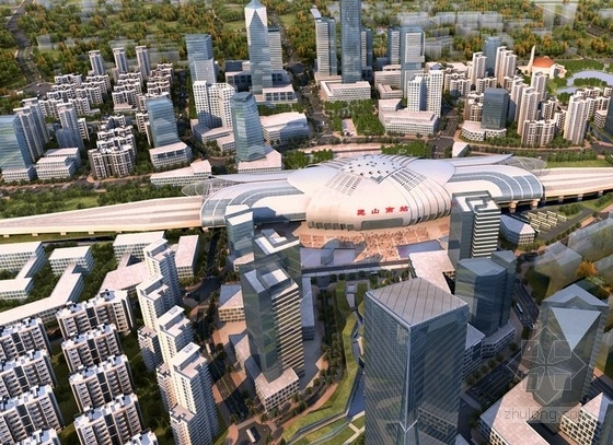 [昆山]某开发区城市规划及单体设计方案文本