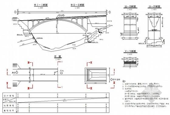 [吉林]跨50m桥梁涵洞设计图纸(成套)