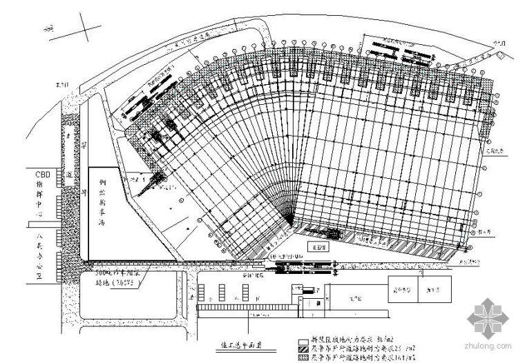 郑州某大型会展中心屋面钢结构预埋件施工方案