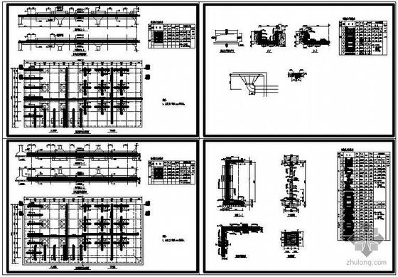 某2000方矩形清水池结构图