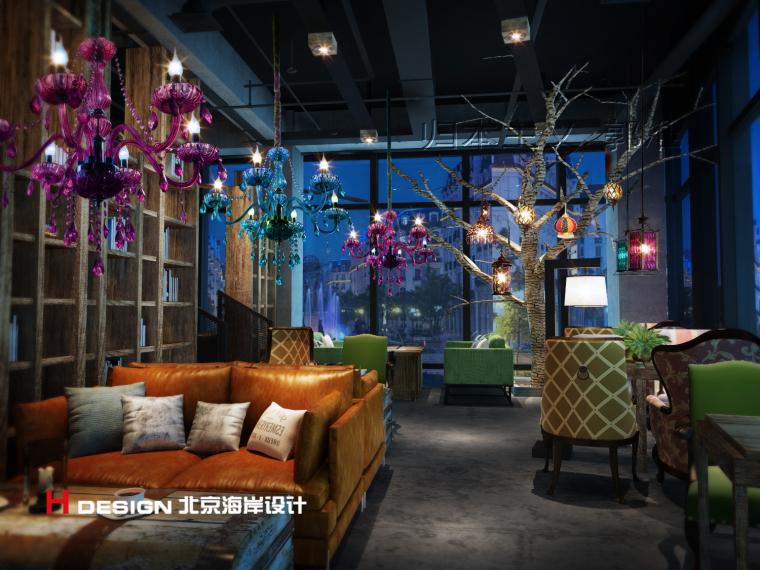 归本主义设计作品—上海漫猫咖啡馆设计案例_11