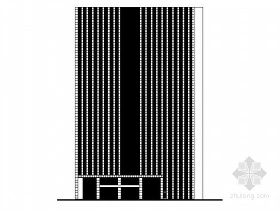 [上海]高层公寓式办公楼建筑设计施工图(含结构施工图190余张图纸)