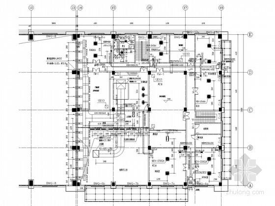 [江苏]火车站房空调通风系统设计施工图(风冷热泵系统)