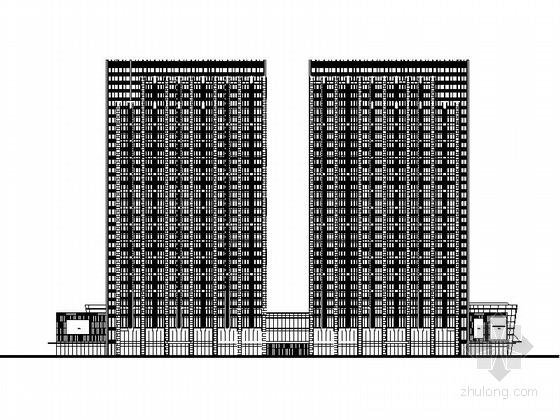 [山东]简欧风格商业综合体施工图(包含效果图、SU)