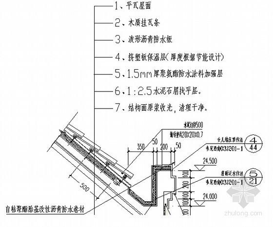 [重庆]屋面专项施工方案(种植屋面 斜屋面 瓦屋面)