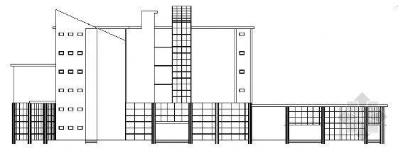 某科技信息六层综合楼建筑图