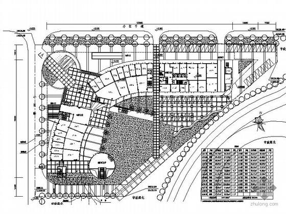 [深圳]某三层综合商业建筑CAD方案图
