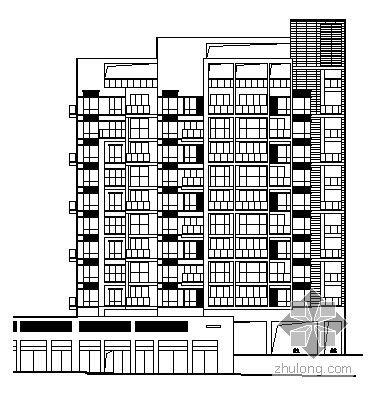 某十层塔式住宅建筑施工图