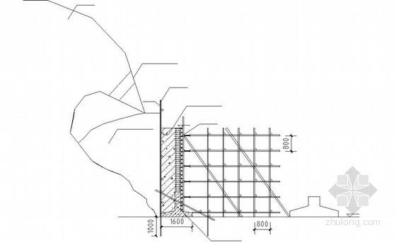 护坡垮塌加固方案节点详图