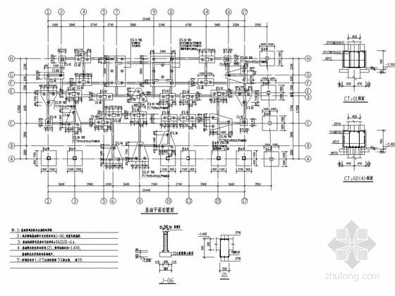 [河南]11层框架剪力墙结构经济适用房结构施工图