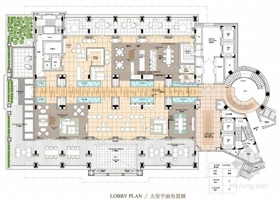 [海南]国际著名现代五星级酒店室内设计方案