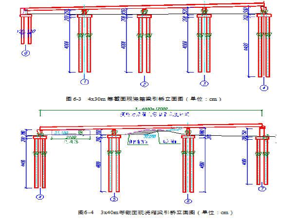 泉河桥引桥及主桥图纸全套413张CAD(中承式平方的图纸一百平面图图片
