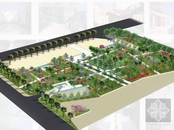 深圳南山某办公区花园方案设计