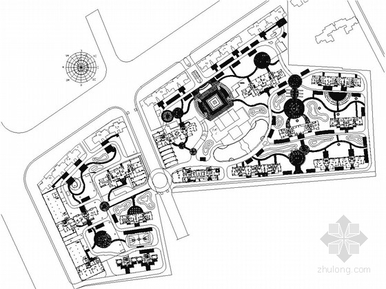 [湖北]生态宜居小区景观规划设计施工图