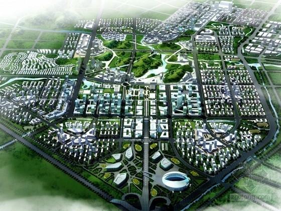 [广西]城市新区控制性详细规划方案(知名设计院)