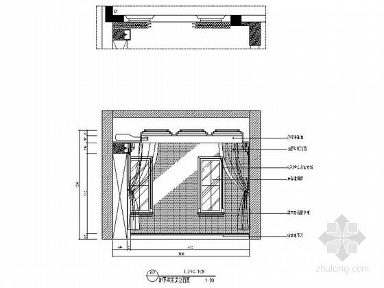 [南京]奢华欧式风格两层别墅CAD室内施工图