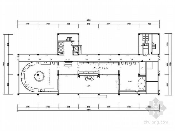[重庆]高新智能科技功能规划产业园展示厅装修施工图(含效果)