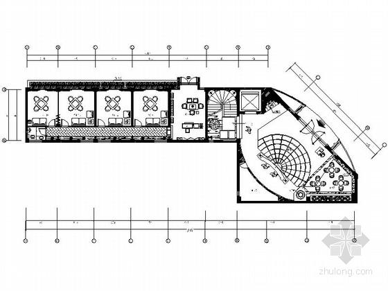 [福建]国际豪华欧式音乐会所设计施工图(含效果)
