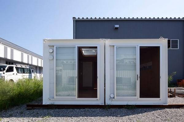 永久性使用的集装箱住宅建筑_2